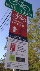 bikeway detour 1