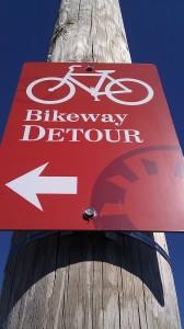 bikeway detour 2