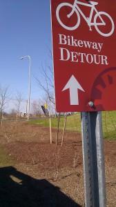 bikeway detour 3