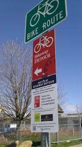 bikeway detour 4