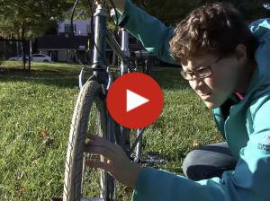 Bike Check video play